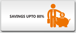 Saving Upto 80%